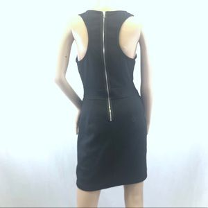 Ali Ro Bodycon Black dress racer back zipper